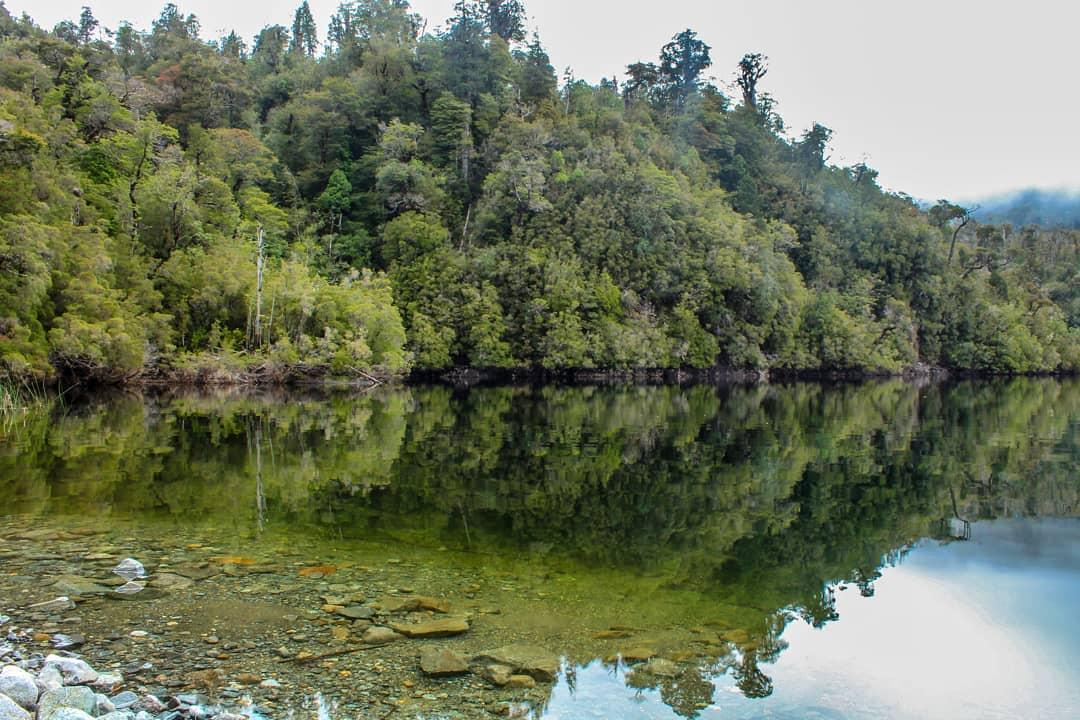 Sargazo Lake, Correntoso sector, Alerce Andino National Park