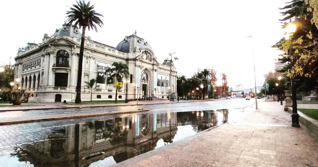 Bellas Artes Museum, National Monument, Santiago Heritage Route, Lastarria Neighborhood