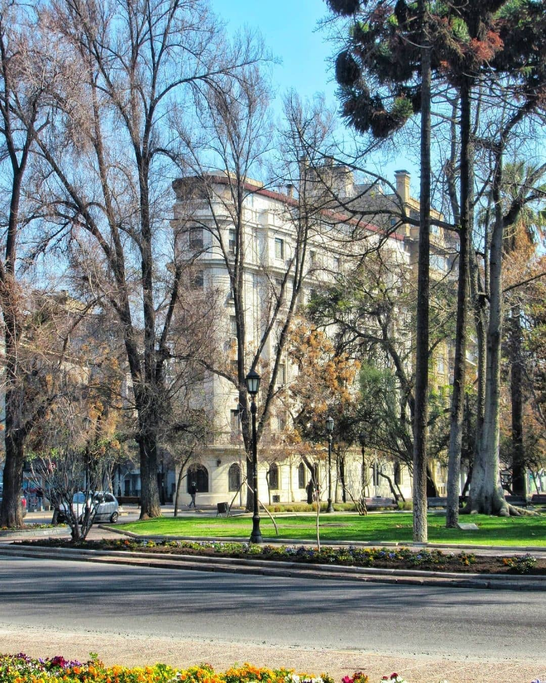 Forestal Park, Barrio Lastarria, Santiago Heritage Route