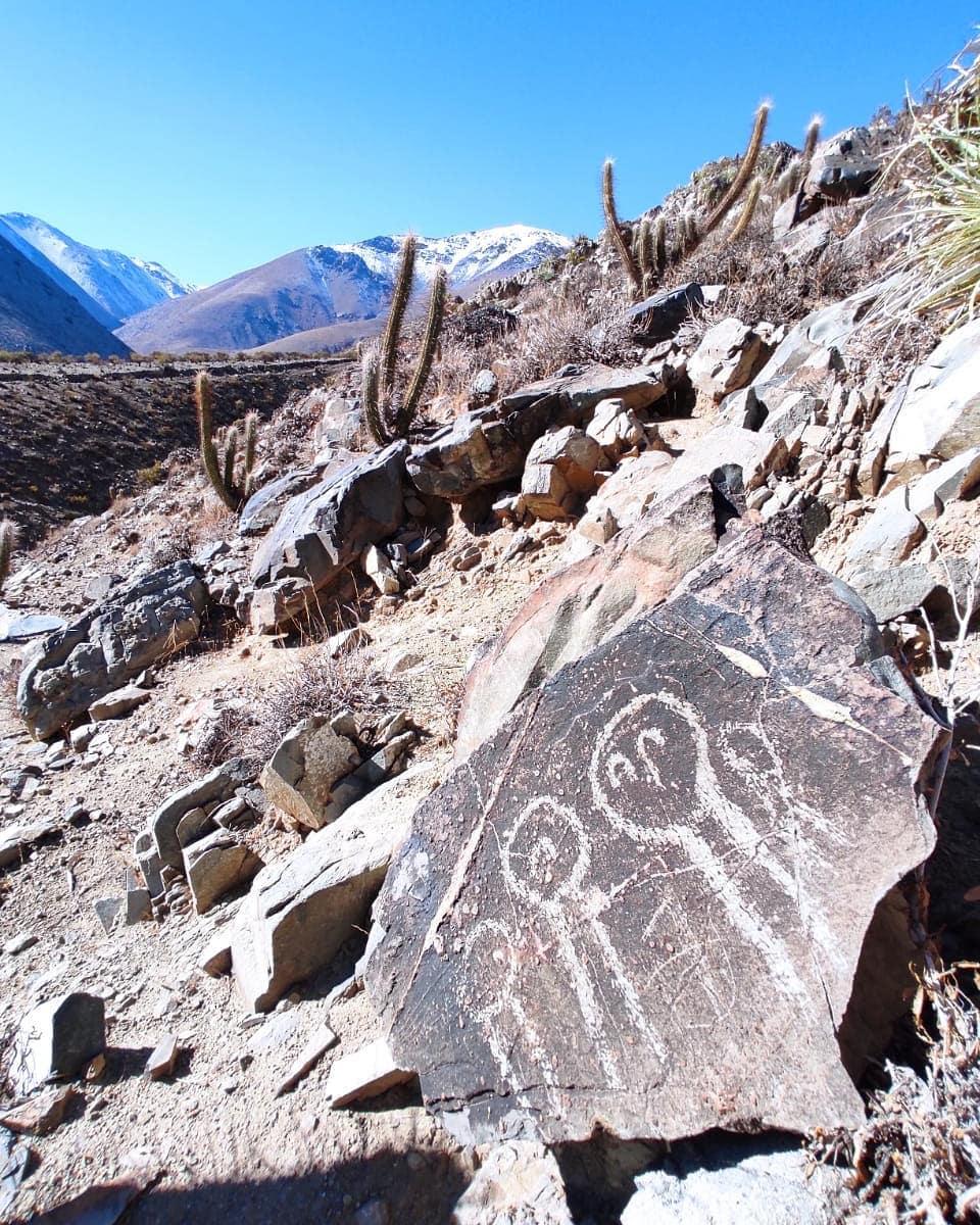 Petroglyphs in Salamanca, Illapel Valley, northern Chile