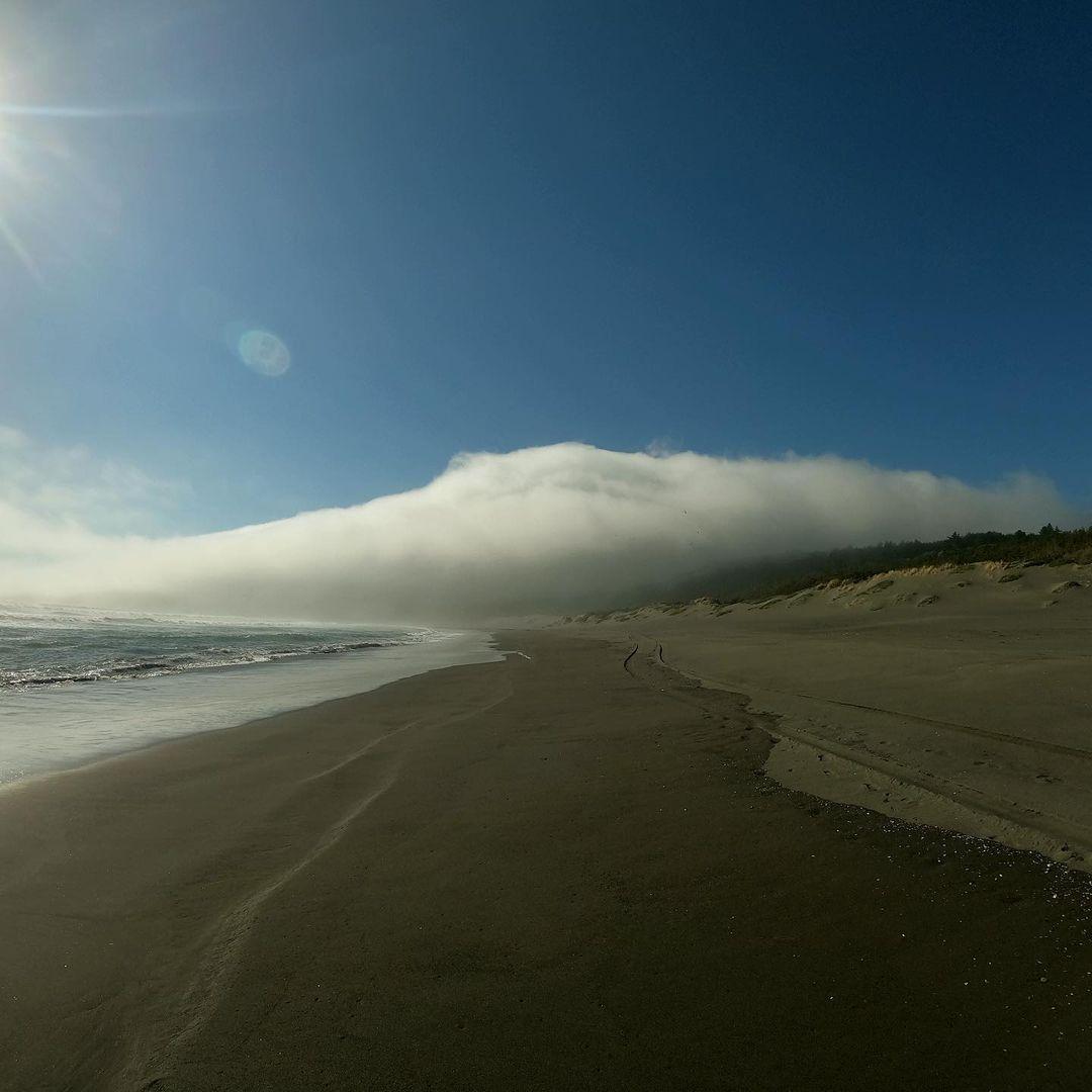 Playa Llico, sur de Chile