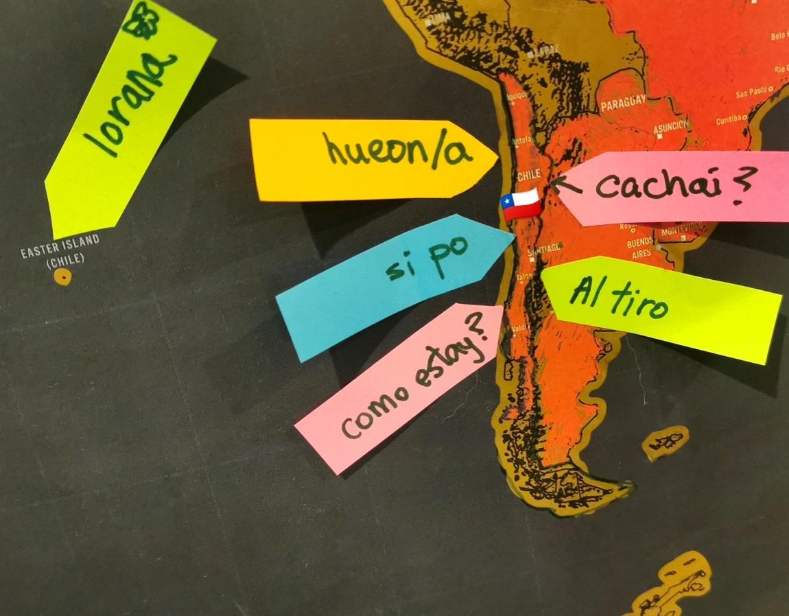 Palabras típicas del español chileno