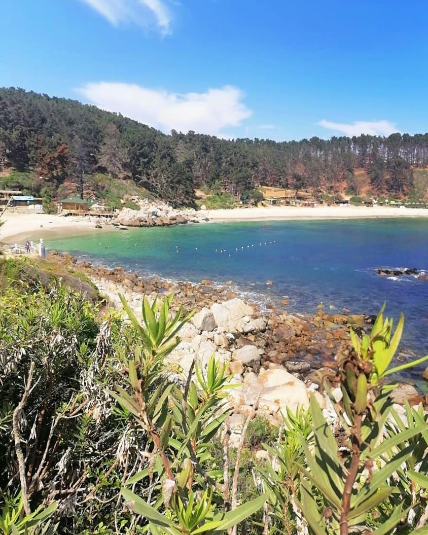 Playa El Canelo, Algarrobo, zona central de Chile