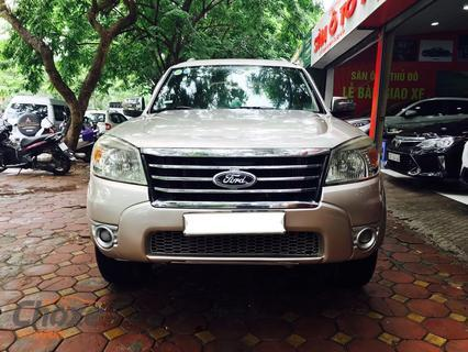 Hà Nội bán xe FORD Everest 2.5 AT 2010