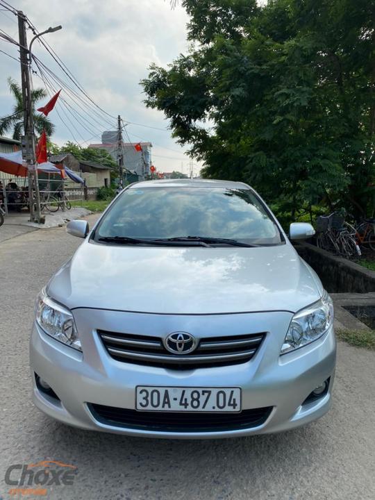 Hà Nội bán xe TOYOTA Altis 1.8 AT 2009