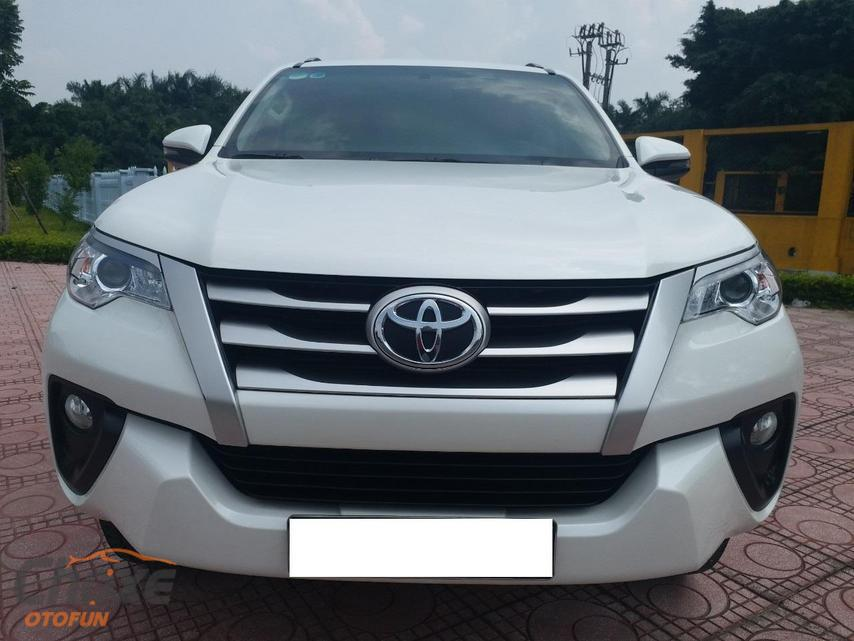 Hà Nội bán xe TOYOTA Fortuner 2.4 AT 2018