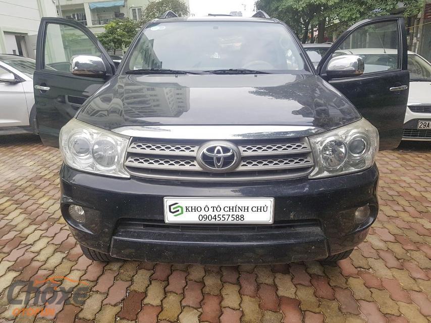 Hà Nội bán xe TOYOTA Fortuner 2.5 MT 2011