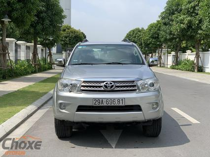 Hà Nội bán xe TOYOTA Fortuner 2.7 AT 2010