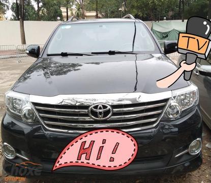 Hà Nội bán xe TOYOTA Fortuner 2.7 AT 2016