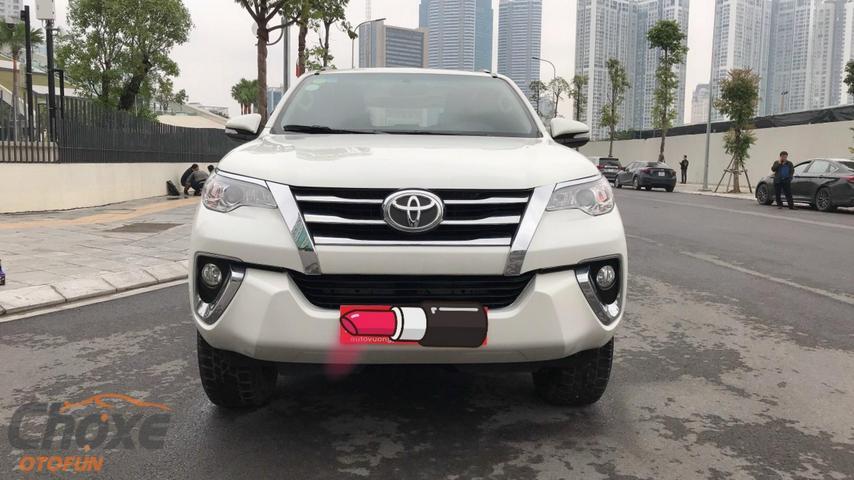 Hà Nội bán xe TOYOTA Fortuner 2.7 AT 2017