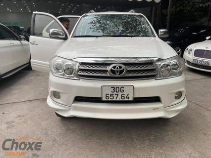 Hà Nội bán xe TOYOTA Fortuner AT 2011