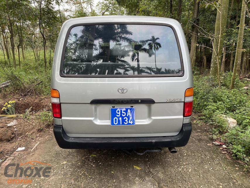 Hà Nội bán xe TOYOTA Hiace MT 2005