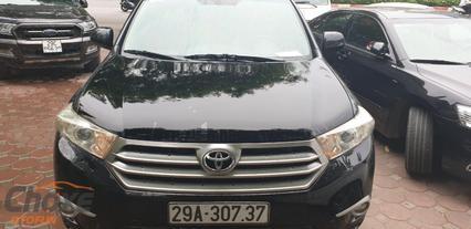Hà Nội bán xe TOYOTA Highlander 2.7 AT 2011