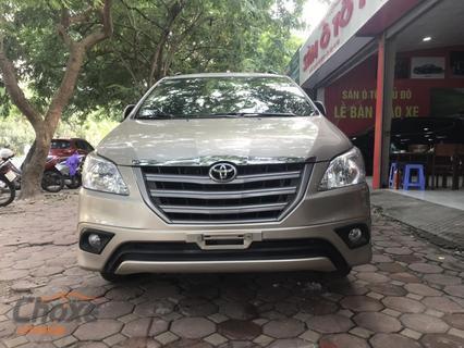 Hà Nội bán xe TOYOTA Innova 2.0 MT 2015