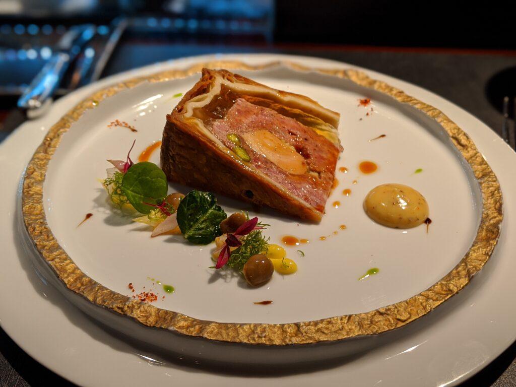 侯布雄法式餐廳 - 法式傳統肉派冷盤