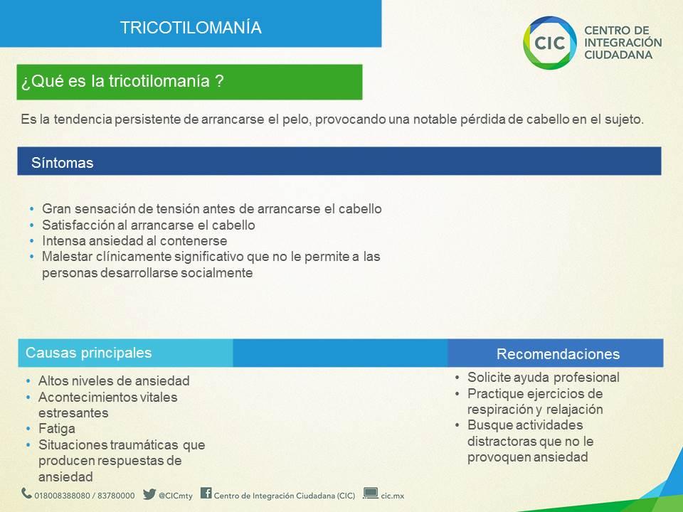 Tricotilomanía, una reacción más común de lo que parece