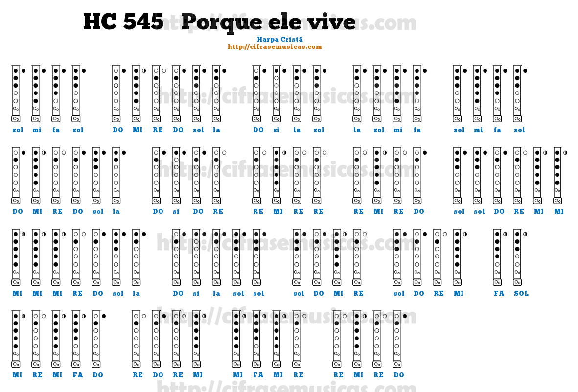 Partitura De Flauta Doce Para Iniciantes RW86