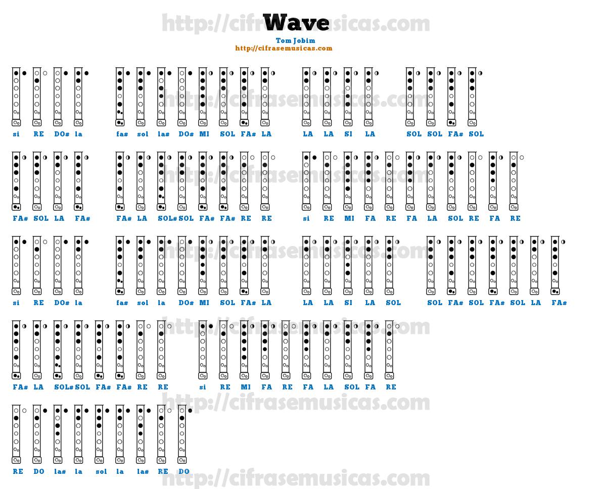 cifra wave
