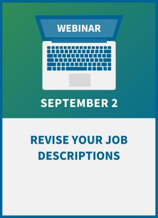 Revise Your Job Descriptions: A Post-Pandemic 'Must' for HR & Managers