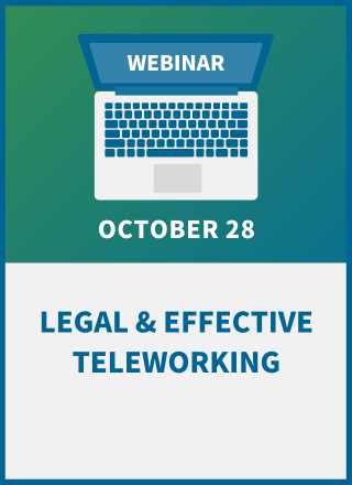 Legal & Effective Teleworking: Setting the Rules for Remote Work