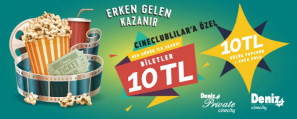 Cinecity Kampanyaları -  Kampanya - 19