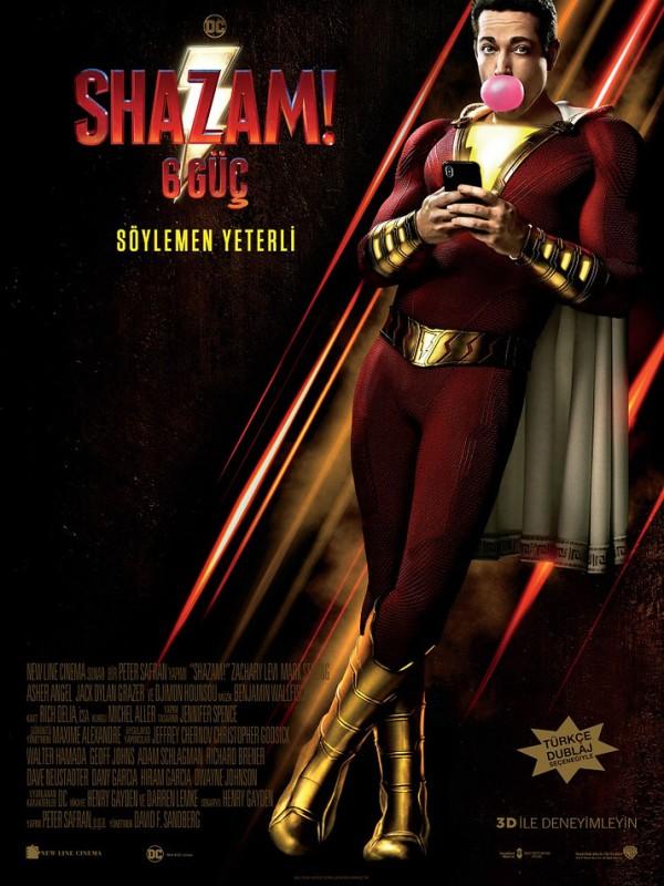 Shazam: 6 Güç