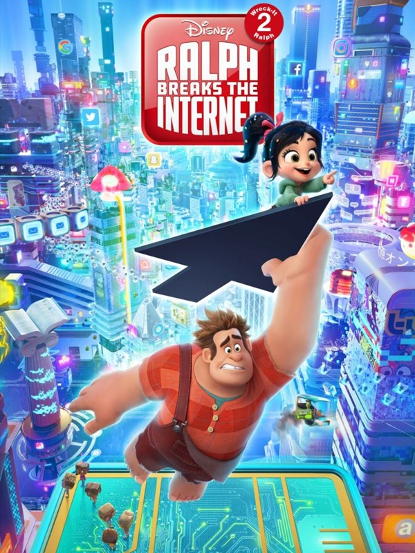 Ralph ve İnternet - Oyunbozan Ralph 2