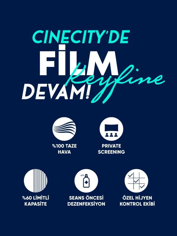 Cinecity'de sinema keyfi 23 Ekim Cuma başlıyor!