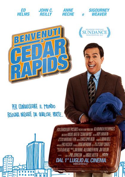 Benvenuti a Cedar Rapids.