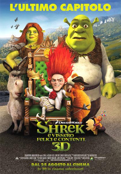 Shrek e vissero felici e contenti.