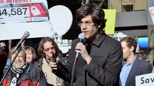 The Internet's Own Boy: The Story of Aaron Swartz.