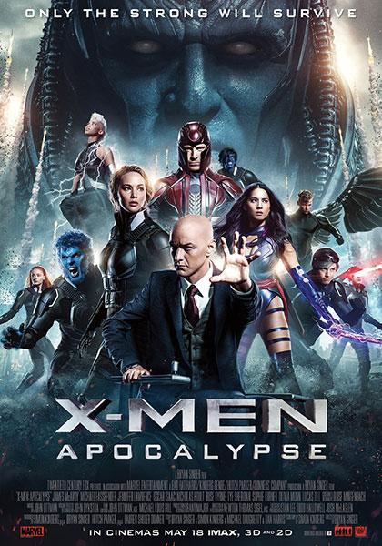 X-Men Apocalypse.