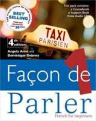 Facon de Parler 1 - Complete Pack (Pupils Book/Support Book/Transcript/Set of CD's)