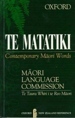 Te Matatiki: Contemporary Maori Words