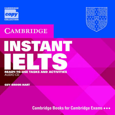 Instant IELTS Audio CD: Ready-to-use Tasks and Activities
