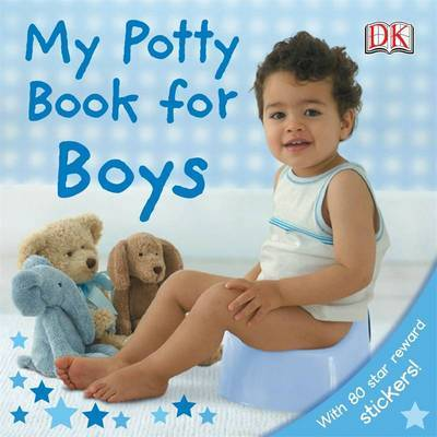 My Potty Book for Boys - Board Book