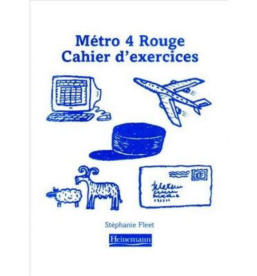 Metro 4 Rouge Workbook (Pack of 8) - Euro Edition