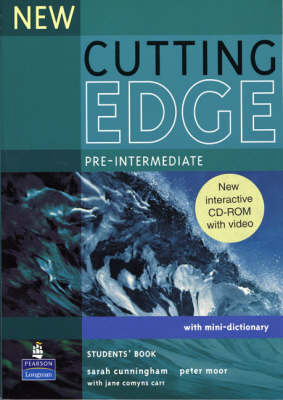 Cutting Edge Pre-Intermediate Students Book - With CD-ROM