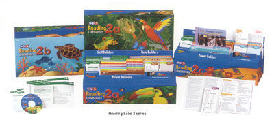 SRA Reading Lab 2b - Complete Kit - Levels 2.5 - 8.0