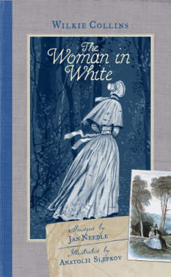 The Woman in White (illustrated)