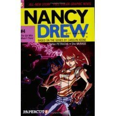 Girl Who Wasn't There, (Nancy Drew Graphic  #4)