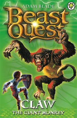 Claw the Giant Monkey (Beast Quest: The Golden Armour #8)