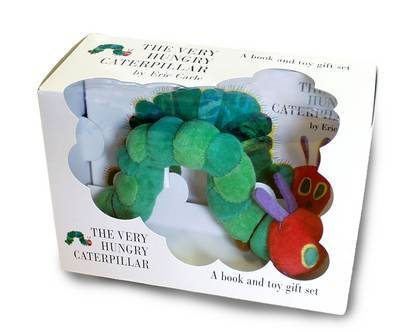 The Very Hungry Caterpillar book and toy
