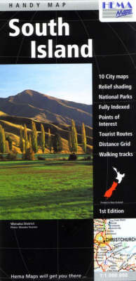 New Zealand South Island Handy Map