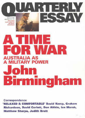 A Time for War: Australia as a Military Power