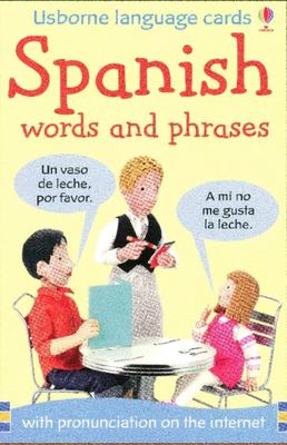 Spanish  Words and Phrases (Usborne Language Cards)