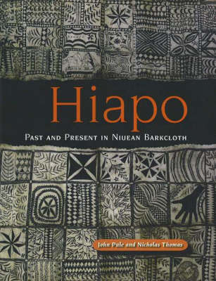 Hiapo: Past and Present in Niuean Barkcloth