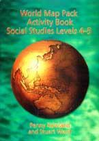 World Map Pack Activity Book: Social Studies Levels 4-5