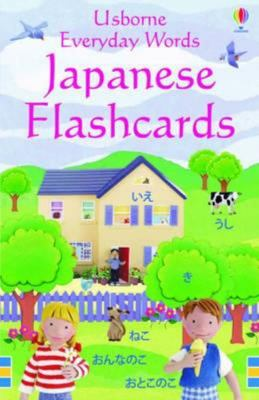 Japanese Flashcards (Usborne Everyday Words)