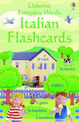 Italian (Usborne Everyday Words Flashcards)